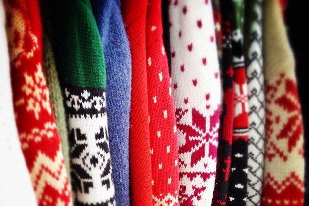 Lepremier concours de pull moche de Noëlde la Manche!