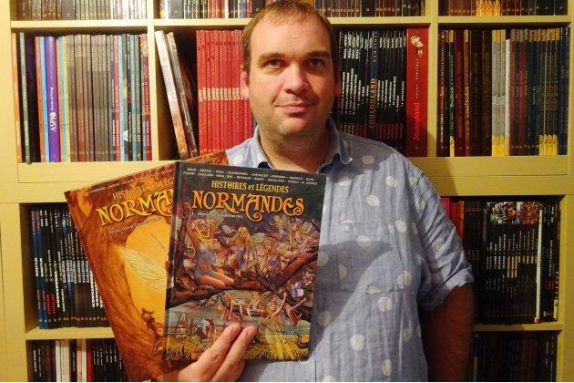 Histoires et légendes normandes en bande dessinée