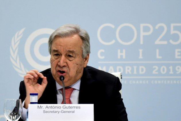 """COP25: l'Humanité doit arrêter de faire la """"guerre"""" à la planète"""