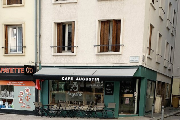 Bonne table : le Café Augustin, place Jacques-Lelieur