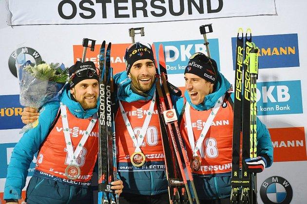 Biathlon: Fourcade et les Bleus marquent les esprits