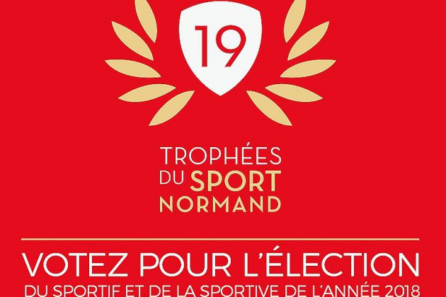 Élisez votre sportive et votre sportif normands de l'année!