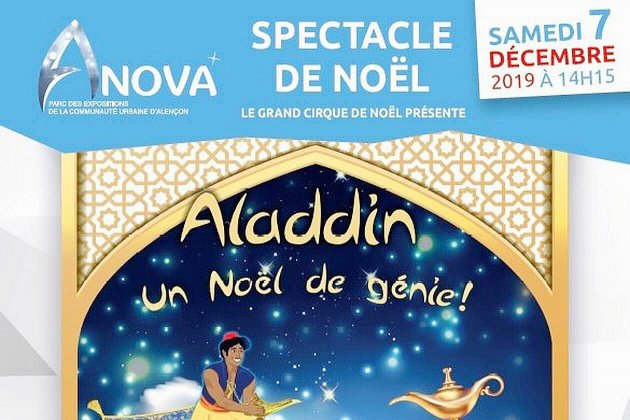 Passez un Noël de génie avec Aladdin à l'Anova d'Alençon