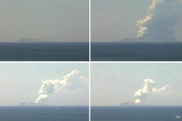 Eruption d'un volcan en Nouvelle-Zélande: au moins un mort, des disparus