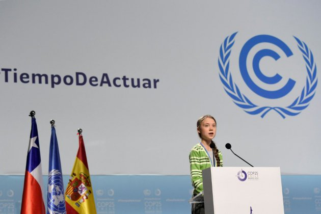 "Climat: Greta Thunberg accuse les Etats de ""tromperie"""