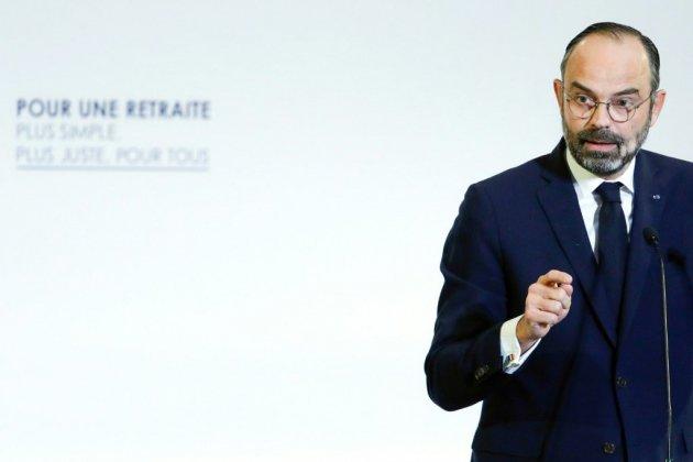 """Edouard Philippe: """"Le temps est venu de construire un système universel de retraites"""""""