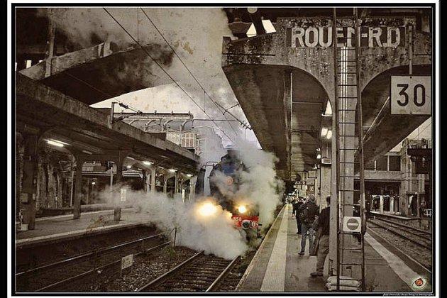 Paris en train vapeurpour profiter des illuminations de Noël