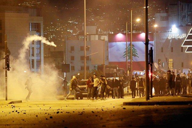 Liban: des dizaines de blessés dans des heurts nocturnes à Beyrouth