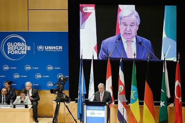 Forum mondial sur les réfugiés: les pays riches invités à assumer leur part