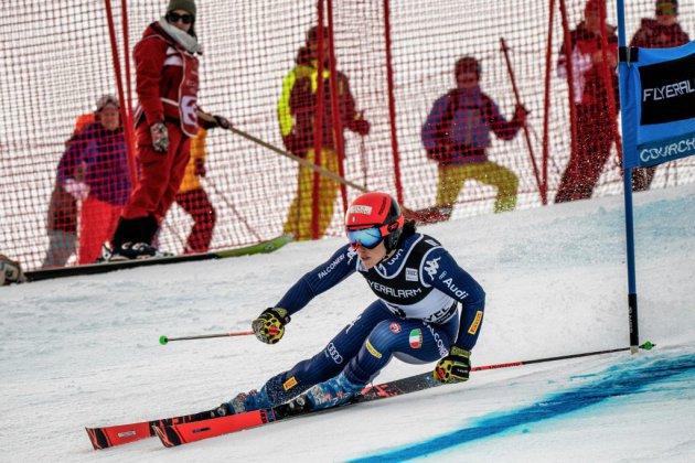 Ski: Brignone remporte le géant de Courchevel, Shiffrin très loin