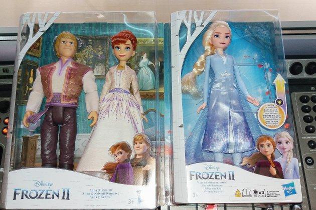 Les poupées de la Reine des Neiges II à gagner pour Noël