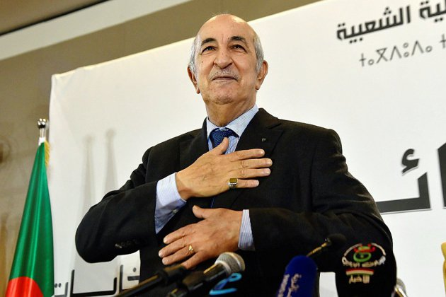 Algérie: mal élu et décrié, le président Tebboune entre en fonction