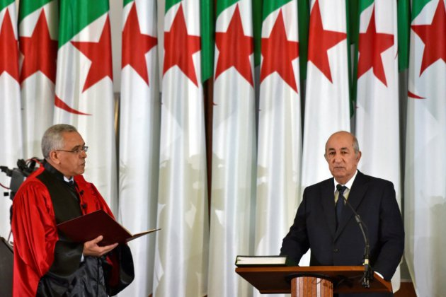 Algérie: le nouveau président Tebboune a prêté serment et entre en fonctions