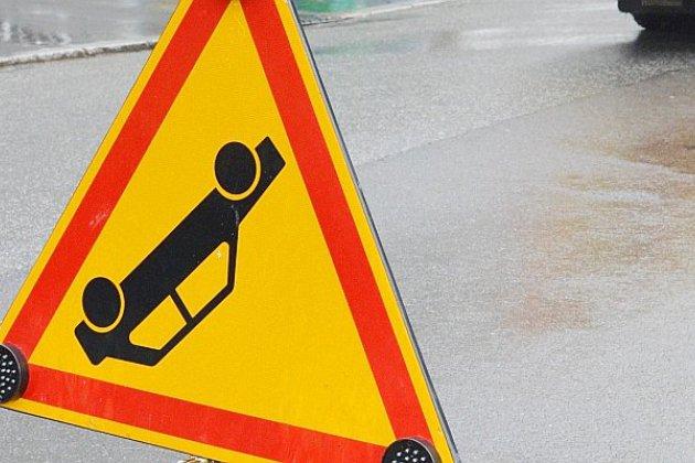 Un jeune automobiliste accidenté en centre-ville
