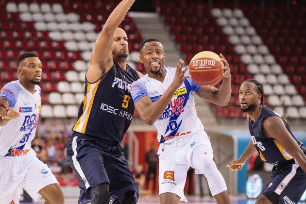 Le Rouen Métropole Basket reçoit Antibes pour poursuivre sa série