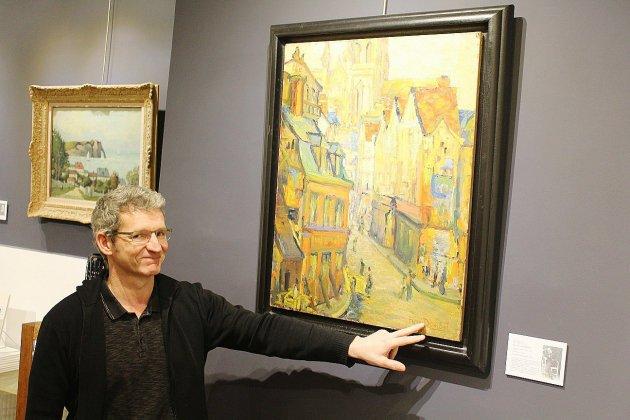 Des œuvres de jeunesse des peintres rouennais à la galerie Bertran