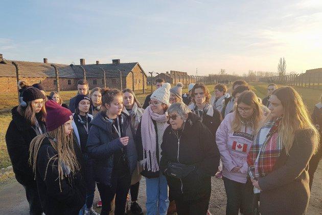 Voyage d'étude à Auschwitz pour des lycéens