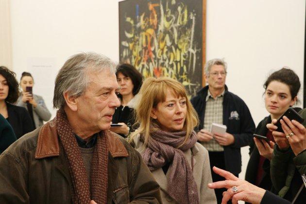 Une salle dédiée à Simon Hantaï ouvre ses portes aux Beaux-Arts