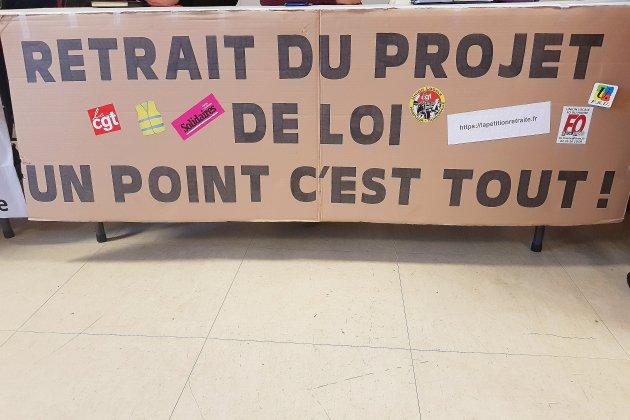 Retraites : une manifestation régionale pendant l'examen du projet de réforme
