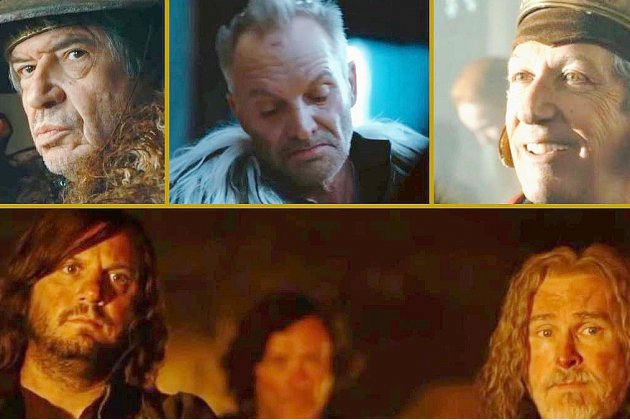 Sting au casting du film Kaamelott!