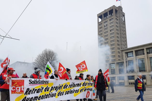 Forte mobilisation pour la manifestation régionale