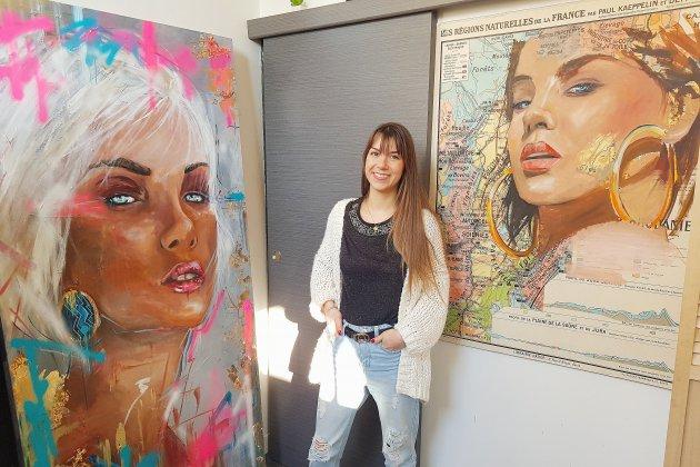 Lia Despas, peintre aux multiples techniques