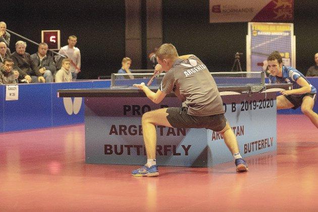 Championnat de France de tennis de table Pro B, duel face à Nantes