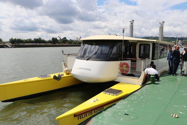 La navette fluviale sur la Seine hors service après une avarie