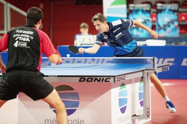 Tennis de Table (Pro A) : Première défaite pour le SPO Rouen