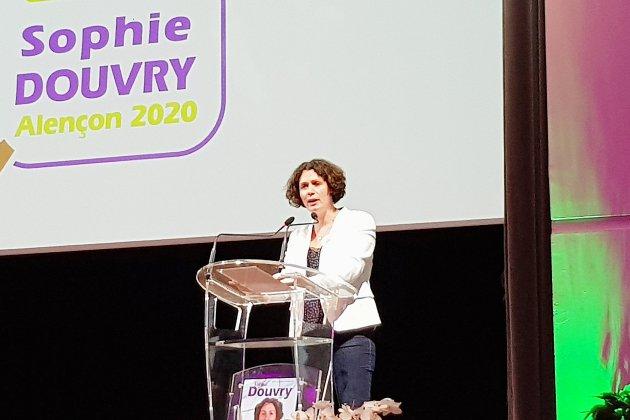 Le centre-droit à la reconquête de la mairie, Sophie Douvry tête de la liste Alençon Autrement
