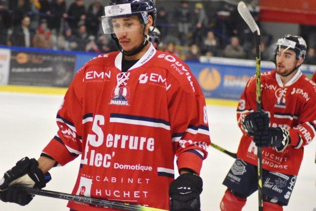 Hockey sur glace (D1) : Caen s'incline à Cergy-Pontoise après un match à rebondissements