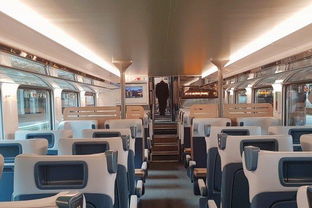 Omneo premium : que pensent les caennais de ce nouveau train ?