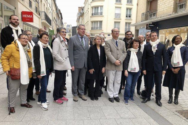 Municipales: Gilles Déterville dévoile les noms de la liste Caen au Cœur