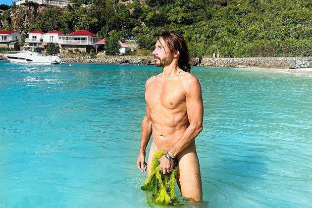 Bob Sinclar entièrement nu pour la Saint-Valentin sur son compte Instagram