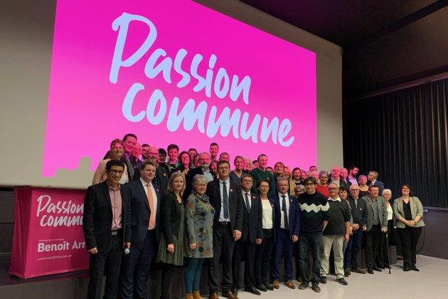 Municipales: Benoît Arrivé a dévoilé les 54 candidats présents sur sa liste