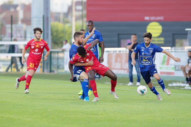 Match crucial pour Quevilly Rouen Métropole face à Concarneau