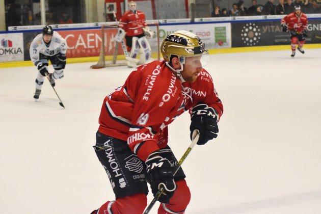 Hockey sur Glace (D1): les Drakkars chutent à Strasbourg