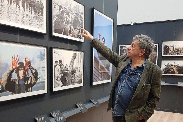 Le photoreporter Patrick Chauvel expose au Mémorial de Caen