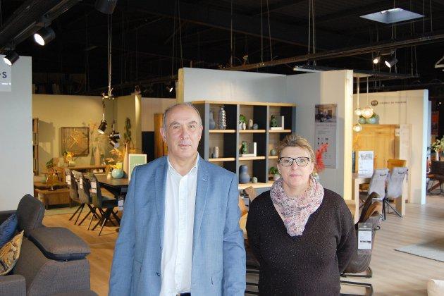 Les meubles de H&H à Barentin