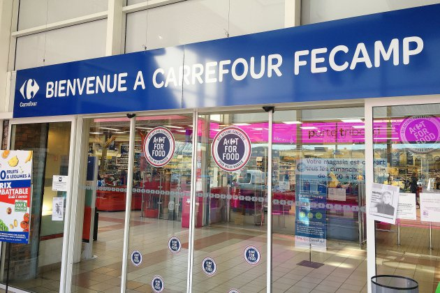 Inquiétude à l'hypermarché Carrefour