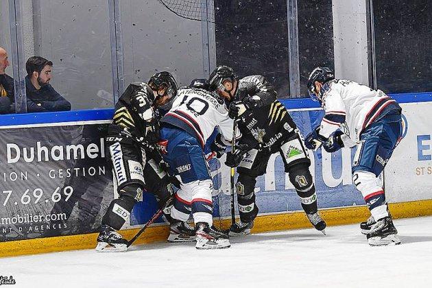 Hockey sur glace: la demi-finale Rouen-Angers suspendue!