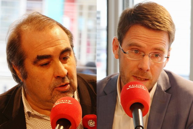 Rouen. Nicolas Mayer-Rossignol et Jean-Michel Bérégovoy se rassemblent