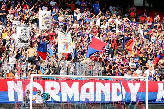 Les supporters du SM Caen solidaires et mobilisés