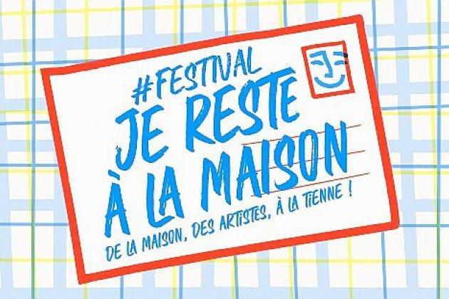 Plus de 80 artistes pour le festival #JeResteALaMaison