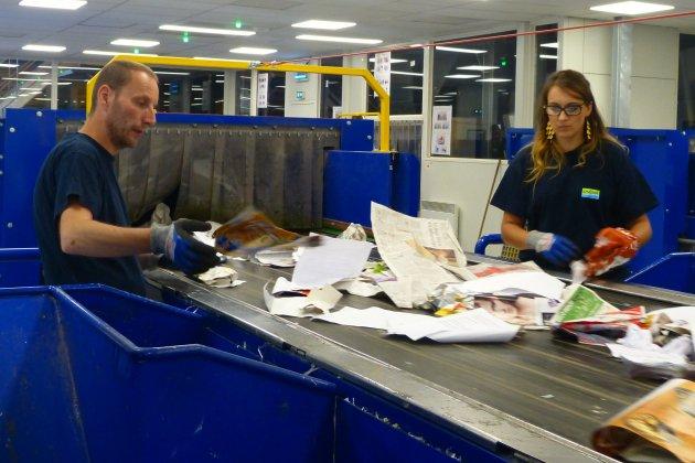 Les déchets recyclables vont à nouveau être triés et non incinérés
