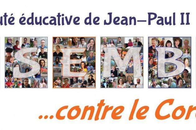 A Coutances, l'école Jean-Paul II se mobilise contre le coronavirus