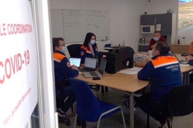 Covid-19: la Protection civile propose son aide