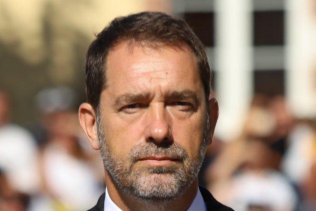 Le ministre de l'Intérieur Christophe Castaner dans le Pays de Caux