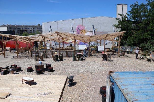 Installée sur la rive gauche, la Friche Lucien espère ouvrir en juin