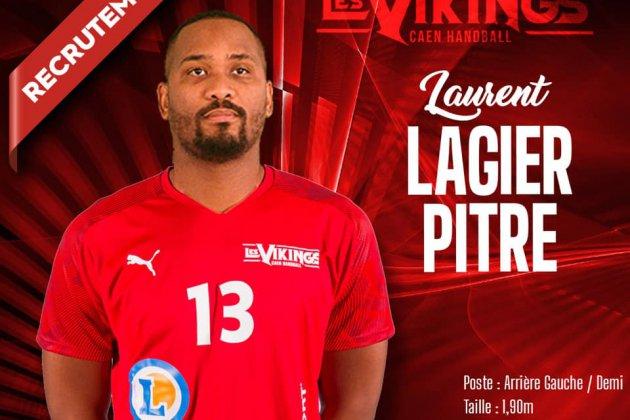 Laurent Lagier-Pitre,nouvelle recrue duCaen Handball